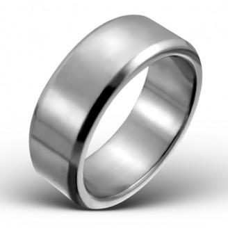 """Prsten z chirurgické oceli """"Camelot"""" 6-8"""
